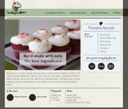 Redesign of Babycakeshop.net